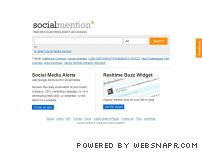 socialmention.com - Real Time Search - Social Mention