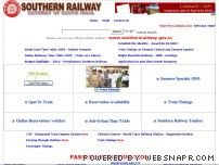 southernrailway.org - Southern Railway - Gateway to South India