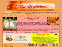 spiritlessons.com - Divine Revelations: Face to Face encounters with Jesus Christ, Mary K.  Baxter, Rapture, free MP3s of Choo Thomas, Pilgrims Progress, Divine Revelation  of Hell, Heaven is So Real, The Final Quest Rick Joyner, Bill Wiese,
