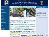 sscsr.gov.in - Staff Selection Commission (Southern Region), Chennai