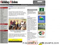 sundayvision.co.ug - Welcome To The Sunday Vision online: Uganda's leading weekly