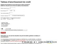 Tableau Amortissement Org Tableau Amortissement Calculez Le Tableau D Amortissement De Votre Credit