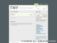 tiny.cc - Tiny URL - create a shorter link
