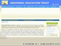 uetb.org - Universal Education Trust