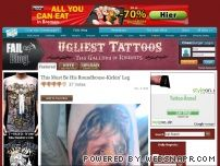 ugliesttattoos.com - Ugliest Tattoos: A Gallery of Regrets