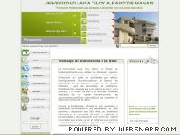 uleam.edu.ec - Universidad Laica Eloy Alfaro - Ingreso