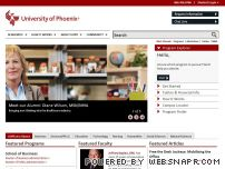 universityofphoenix.com - Online University Education - Online Degrees - University of Phoenix
