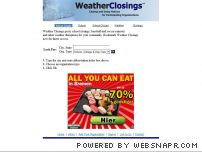 weatherclosings.com - WeatherClosings - School and Event Closings
