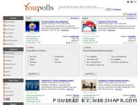 youpolls.com - Political Polls, Election Polls, Online Polls and More | YouPolls