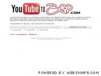 youtubeto3gp.com screenshot