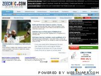 zeecric.com - Latest Cricket News, Live Scores, Cricket Updates, India Cricket News, ODI Cricket, Test Cricket, ICC & BCCI Ratings: Zeecric